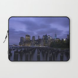New York at Night Laptop Sleeve