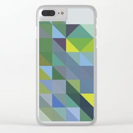 Triangulation  03 Clear iPhone Case