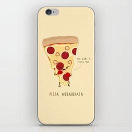 Pizza Arrabbiata / Angry Pizza iPhone Skin