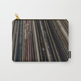 Vintage record collection Carry-All Pouch