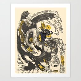 Dinamic Art Print