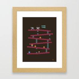 Human Work! Framed Art Print