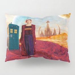 13th Doctor at Gallifrey Planet Pillow Sham