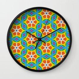 Fruity Retro Tropic Wall Clock