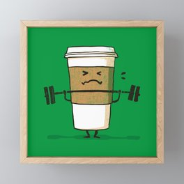 Strong Coffee Framed Mini Art Print