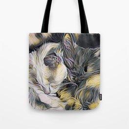 """""""Cat Love"""" Tote Bag"""