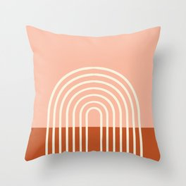 Terracota Pastel Throw Pillow