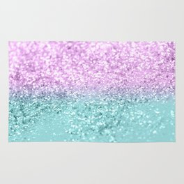 Mermaid Girls Glitter #2 #shiny #decor #art #society6 Rug