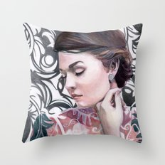 Conspicuous design Throw Pillow