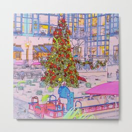 O Christmas Tree! Metal Print