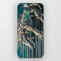android iPhone & iPod Skins featuring android anteater by Kingu Omega