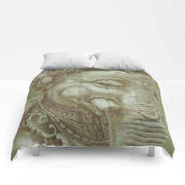 Ganesh green Comforters