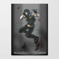 vocaloid Canvas Prints featuring VOCALOID Cole by Witchy