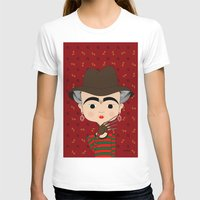 freddy krueger T-shirts featuring Frida Krueger by Camila Oliveira