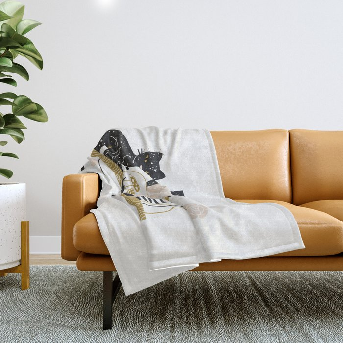 Magical Little Shelf Throw Blanket