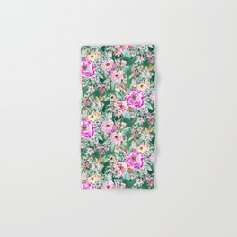 WANDERLUSH Colorful Floral Hand & Bath Towel