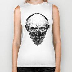 skulls street style Biker Tank