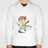magic the gathering Hoodies featuring Magic the Gathering Brimaz Cat Warrior Token by Deadlance