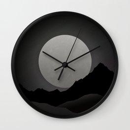 Night Gazing Wall Clock