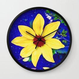 Dahlia in Candie Gardens Wall Clock
