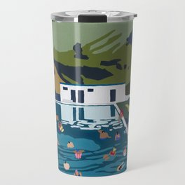 Seljavallalaug Travel Mug