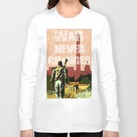 fallout Long Sleeve T-shirts featuring Fallout 3 by Dayle Kornely
