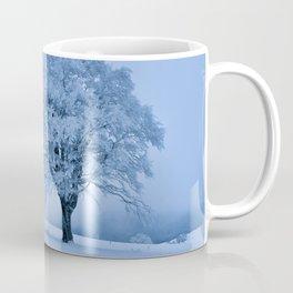 Solitary Snow Tree - Landscape Photograhpy Coffee Mug