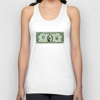 monet Tank Tops featuring Check the Monet by Thomas Orrow