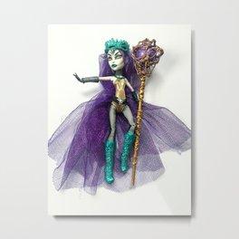 Dark Summoner Spectra doll Metal Print