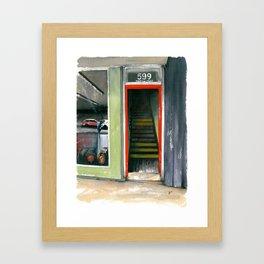 599 W. King St. Framed Art Print