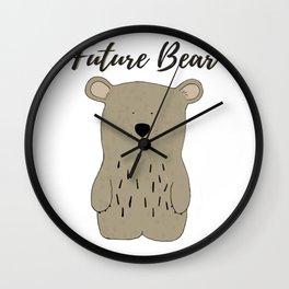Future Bear Wall Clock