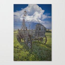 Frontier Farm No 235 Canvas Print