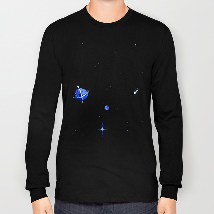 SATURN AND DIONE Long Sleeve T-shirt