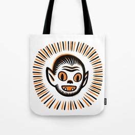 Werewolf Head Tote Bag