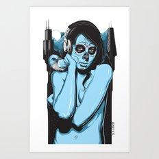 Chicago Muerta  Art Print