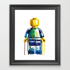 Same Difference Framed Art Print