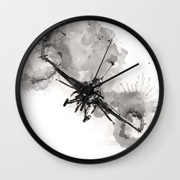 Fighting falcon Wall Clock