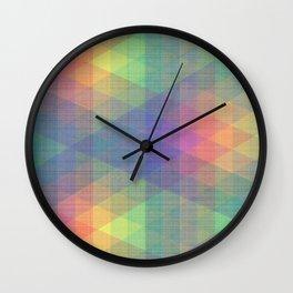 Diamond Spectrum Wall Clock