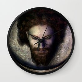 Fatale - John - Rust Wall Clock
