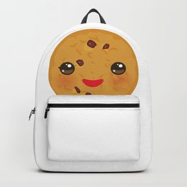 Kawaii Chocolate chip cookie Backpack