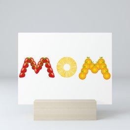 Fruity mom Mini Art Print