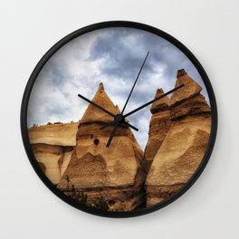 Kasha Peaks Wall Clock