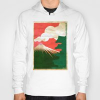japan Hoodies featuring japan by barmalisiRTB