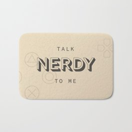 Talk Nerdy to Me Bath Mat