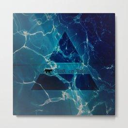 Walk on Water Metal Print