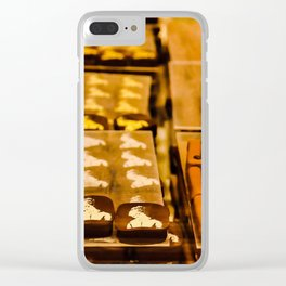 Chocolate Clear iPhone Case