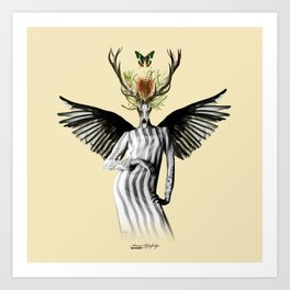 complicated creature - temptation Art Print
