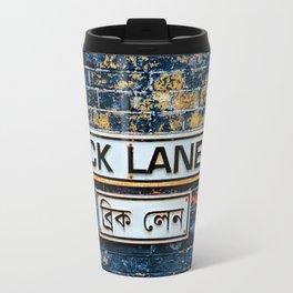 London Brick Lane Sign Travel Mug