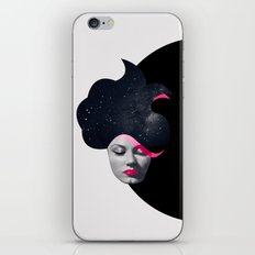 Souffle de Cheveux iPhone Skin