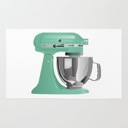 Jade KitchenAid Stand Mixer Rug